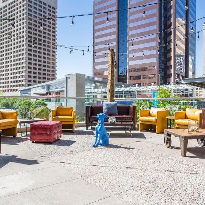 outdoor patio events