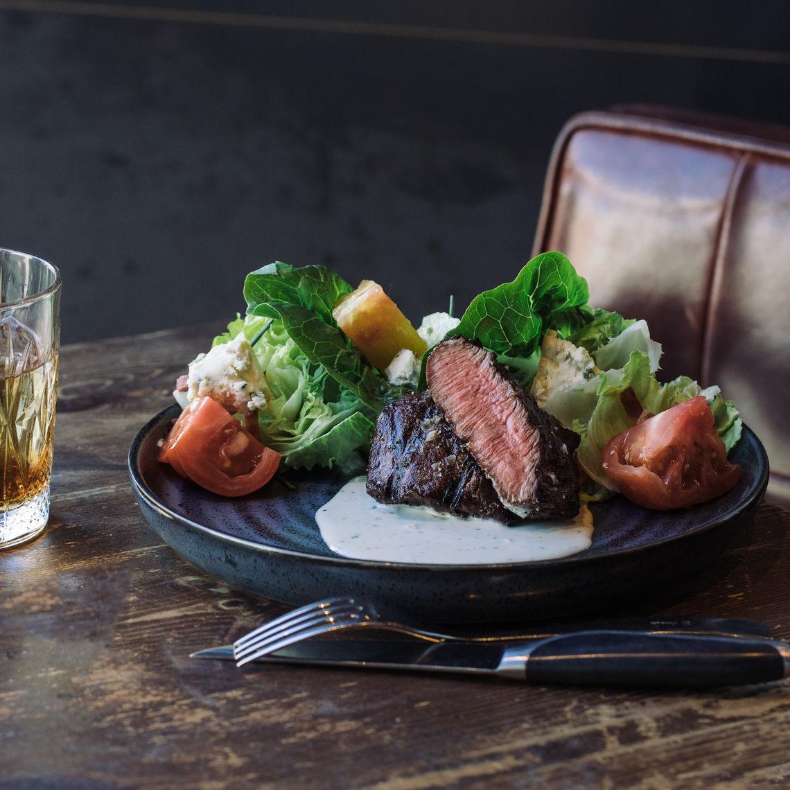 Beef Bleu Salad