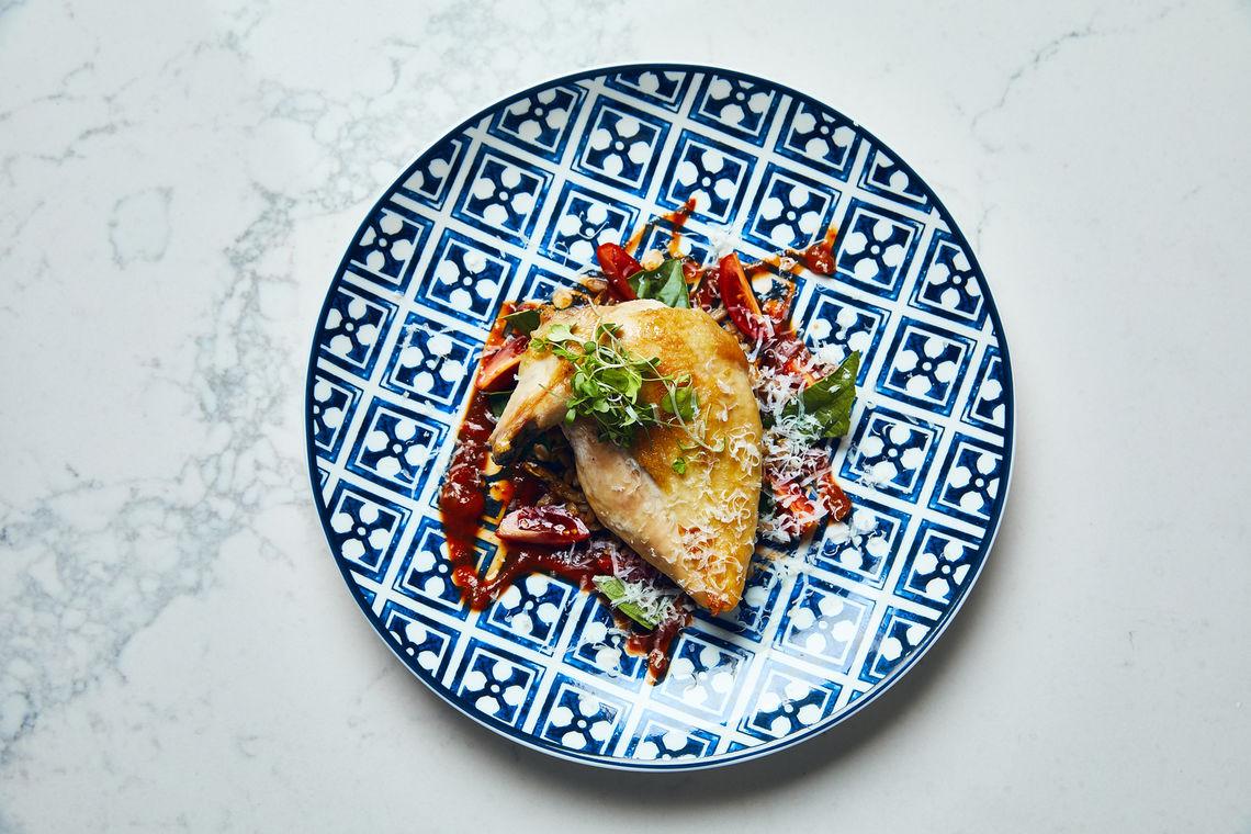 Kimpton Peacock dish